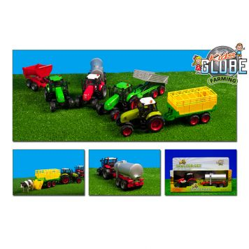 Tractor/Aanhanger Met Licht Assorti
