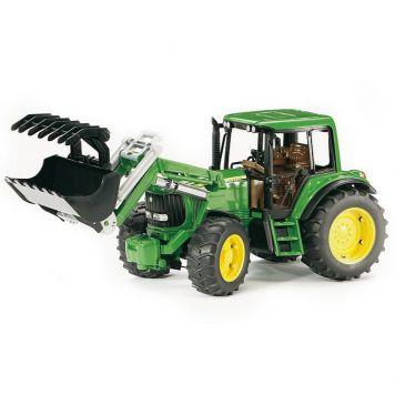 Bruder Tractor John Deere 6920 Met Frontlader