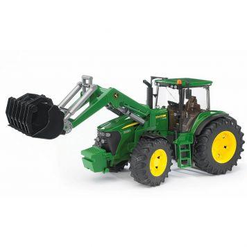 Bruder Tractor John Deere 7930 Met Frontlader