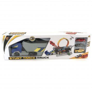 Stunt Racebaan Met Truck