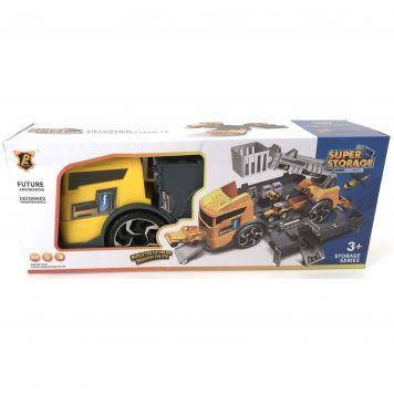 Speelset Constructie Garage In Truck