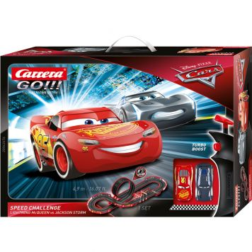 Racebaan Carrera Go 490 Cm Disney Cars Speed Challenge