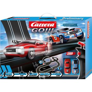 Racebaan Carrera GO Smoking Tires 490 Cm