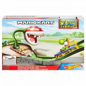Hot Wheels Mariokart Piranha Plant Slide Track Set