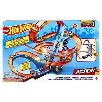 Hot Wheels Action Wolenkrabber Crash Speelset
