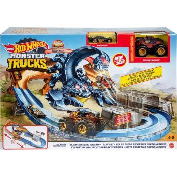 Hot Wheels Monster Truck Scorpion Speelset