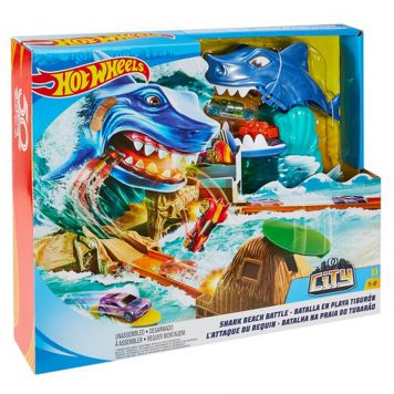 Hot Wheels Haai Strand Strijd