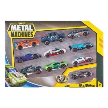 Zuru Metal Machines Diecast Auto's 10 Pack Assorti