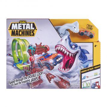 Zuru Metal Machines Shark Attack Racebaan met Diecast Auto