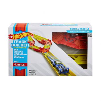 Hot Wheels Track Builder Split Track