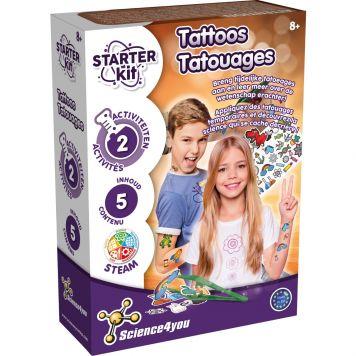 Wetenschap Tattoo Starter Set