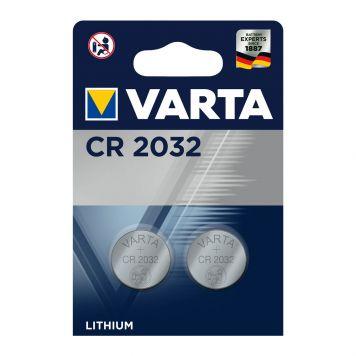 Batterijen CR2032 2 Stuks Varta Knoopcel