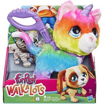Fur Real Walkalots Big Wags Unicorn Cat