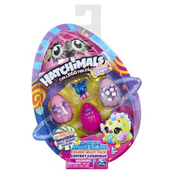 Hatchimals Colleggtibles S8 4 Pack Cosmic Candy  4 Pack