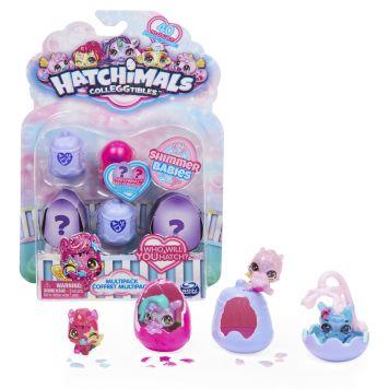 Hatchimals Colleggtibles Shimmer Babies (S10)  Multi Pack (4 Pack)