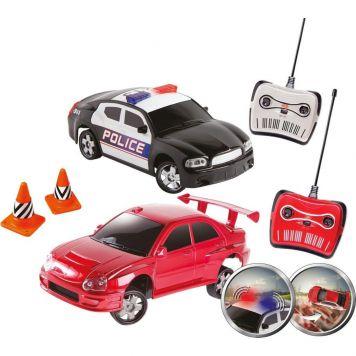 Happy People Politiewagen Remote Control Met Licht 41 cm