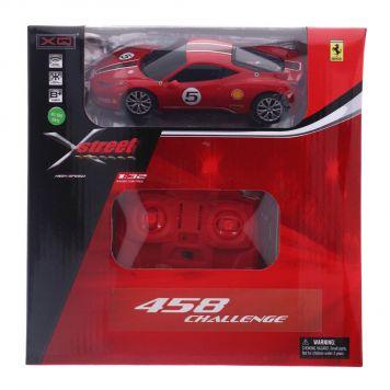 X-Street Radiografisch Bestuurbare Auto Ferrari 458 CHALLENGE 1/32