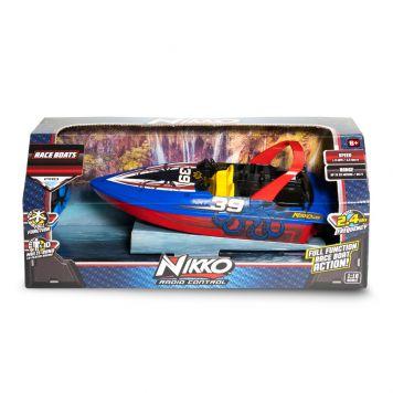 Nikko Radiografisch Bestuurbare Raceboot 1:16 Blauw