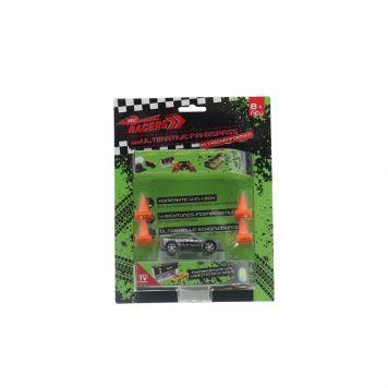 Radiografisch Bestuurbare Auto Pocket Racers 4-in-1 Raceauto Assorti