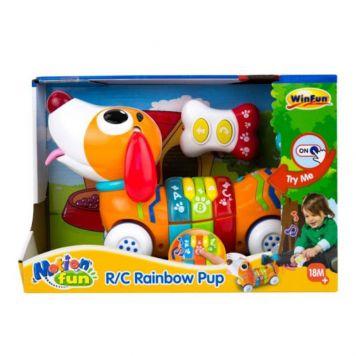 R/C Leer En Speel Hond Rainbow Pup
