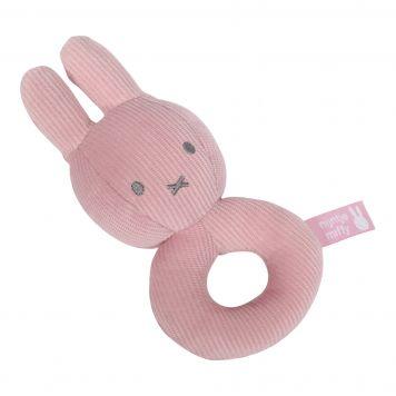 Nijntje Rammelaar Roze Babyrib