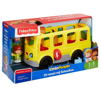 Fisher-Price Little People Zit Naast Mij Schoolbus NL