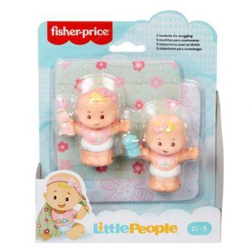 Fisher Price Little People Babies Deluxe Gear Tweeling Assorti