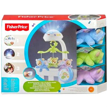 Fisher Price Vlinderdromen 3In1 Projectormobiel