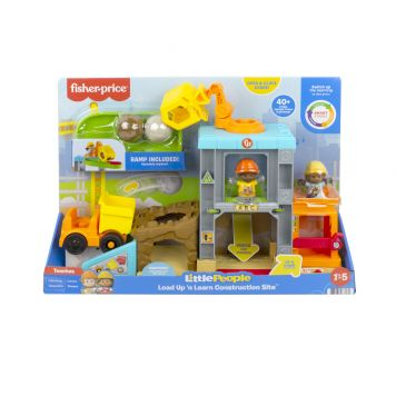 Fisher Price Little People Lift N' Learn  Construction Site-SO