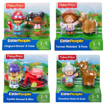 Fisher Price Little People Figuren 2 Pack Assorti