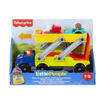 Fisher Price Little People Ramp 'n Go Carrier Gift  Set