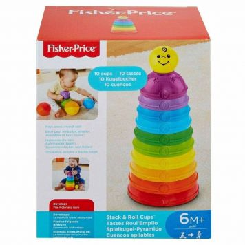 Stapelblokken Fisher Price Assorti
