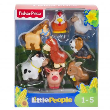 Fisher Price Little People Animal Figuur 8 Pack Assorti