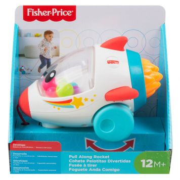 Fisher Price Pull Rocket
