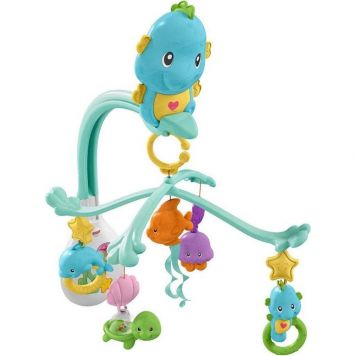 Fisher Price 3 In 1 Soothe & Play Seahorse
