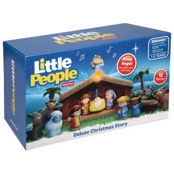 Fisher Price Little People Kerststal