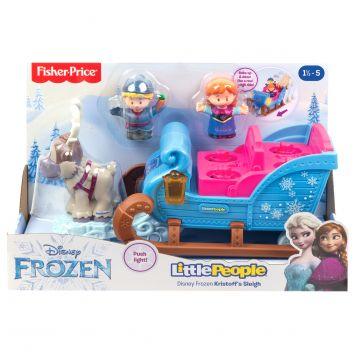 Fisher Price Little People Disney Frozen Kristoff's Slee