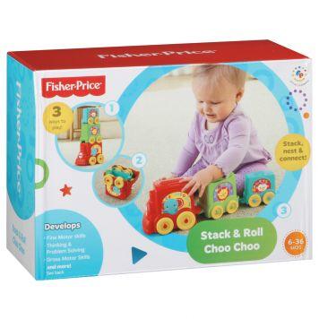 Fisher Price Stack & Roll Choo Choo Train