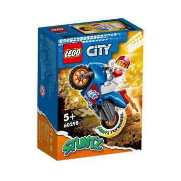 LEGO City Stunt 60298 Raket Stuntmotor