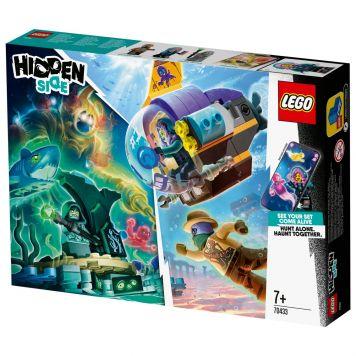 LEGO Hidden 70433 J.B.'s Duikboot