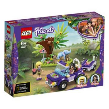 LEGO Friends 41421 Reddingsbasis Babyolifant In Jungle