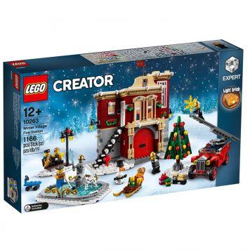 LEGO 10263 Brandweerkazerne In Winterdorp