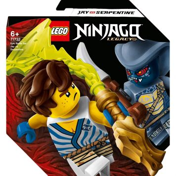 LEGO Ninjago 71732 Epic Battle Set - Jay Vs. Serpentine