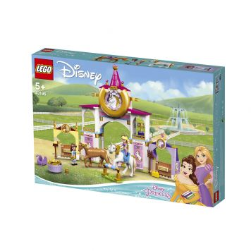 LEGO Disney Princess 43195 Belle En Rapunzel's Koninklijke Paardenstal