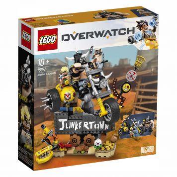 LEGO Overwatch 75977 Junkrat En Roadhog