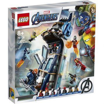 LEGO Marvel Avengers 76166 Avengers Torengevecht