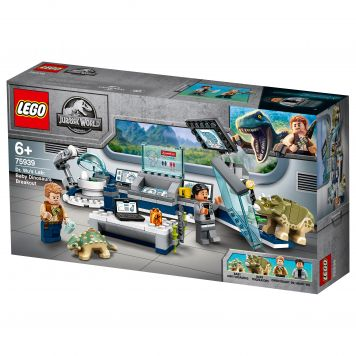 LEGO Jurassic World 75939 Dr Wu's Laboratorium: Ontsnapping Van De Babydinosauru