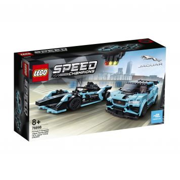 LEGO Speed 76898 Formula E Panasonic Jaguar Racing GEN2 Car & Jaguar I-PACE eTRO