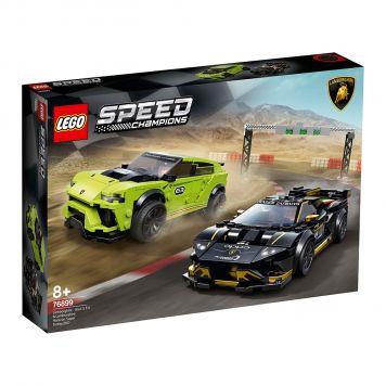 LEGO Speed 76899 Lamborghini Urus ST-X & Lamborghini Huracán Super Trofeo EVO