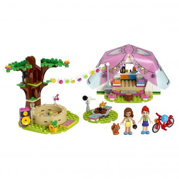 LEGO Friends 41392 Glamping In De Natuur